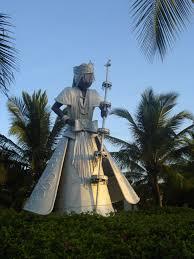 Statue of Obatala in Bahia. Courtesy of wikimedia.