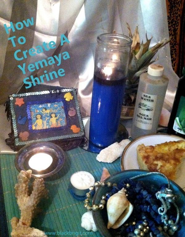 Yemaya shrine photo by Lilith Dorsey. All rights reserved.