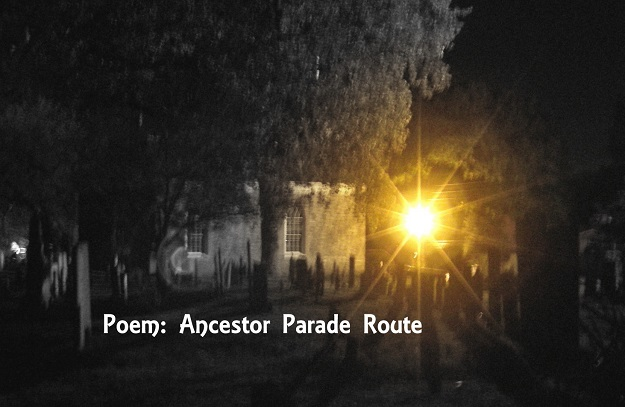 Ancestor Parade Route photo by Lilith Dorsey. All rights reserved.