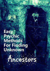Finding Unknown Ancestors photo by Lilith Dorsey 2015. All rights reserved.