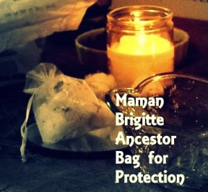 Maman Brigitte Gris-Gris protection bag photo by Lilith Dorsey. All rights reserved.