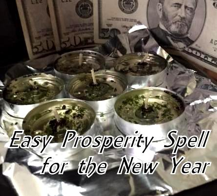 Easy Prosperity Spell For The New Year