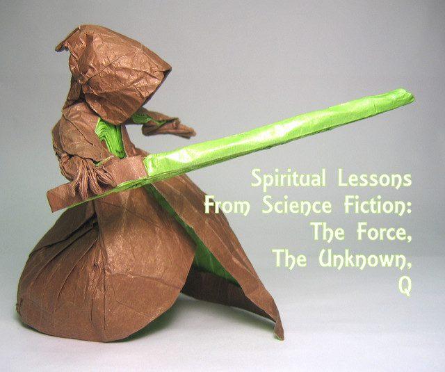 Jedi photo by Phillip West. Text added. Licensed under CC 2.0