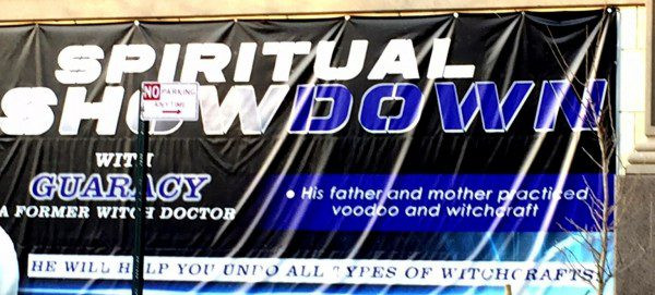 Spiritual showdown photo by Lilith Dorsey. All rights reserved.