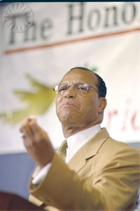 Minister Louis Farrakhan, leader of the Nation of Islam, Credit: Jim Wallace (Smithsonian Institution) Licensed under CC 2.0