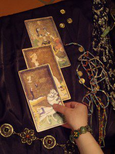 Old Tarot Cards photo. Licensed under public domain.