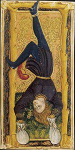 Pendu tarot image courtesy of wikimedia.
