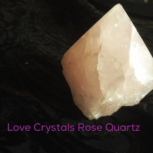 Love Crystals Rose Quartz photo by Lilith Dorsey. All rights reserved.