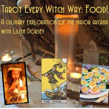Tarot every witch way food photo. All rights reserved.