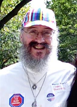 Isaac Bonewits photo courtesy of wikimedia commons. Licensed under CC 2.0