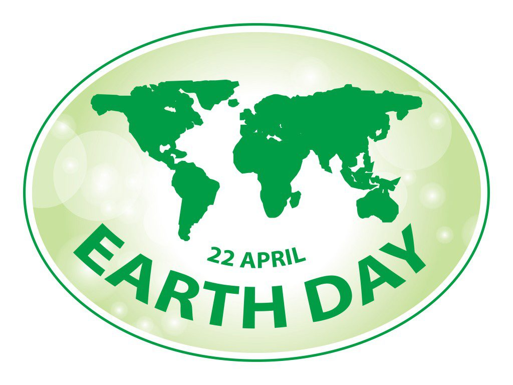 earth day green grunge banner background 2