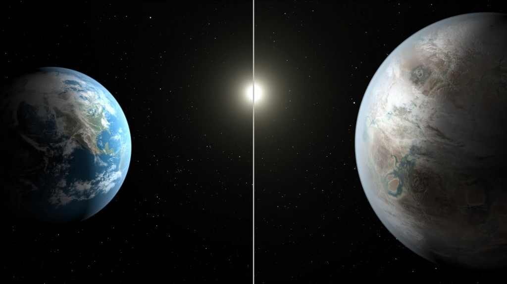 Image of Kepler-452b, via NASA