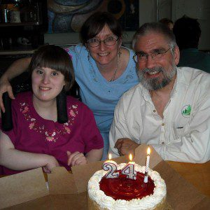 Six years ago today. Rhiannon's 24th birthday, May 19, 2009.