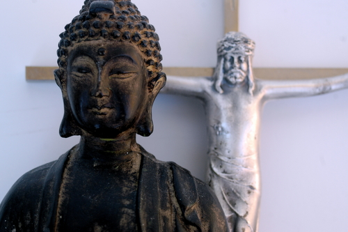 The Buddha and Christ (image credit: beachlane/shutterstock)
