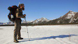 Soundscape Technician Davyd Betchkal looks over Denali National Park (image courtesy Transcendental Media)
