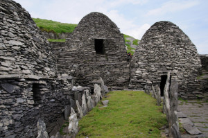 No, it's not a Jedi temple! But Skellig Michael is evidence that even 1500 years ago in remote Ireland, hermit Christians formed community.