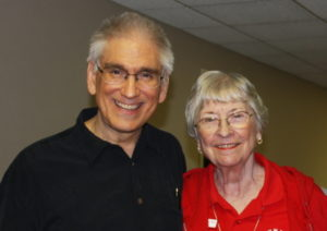 Carl McColman with Sr. LaVerne Peter, WSHS, spiritual director of the Worker Sisters & Brothers of the Holy Spirit