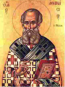 Ikon of St. Athanasius (Public Domain).