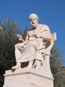 Statue of Plato (Courtesy Wikimedia Commons)