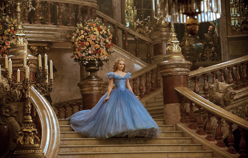 Lily James is Cinderella in Disney's live-action feature inspired by the classic fairy tale, CINDERELLA, which brings to life the timeless images from Disney's 1950 animated masterpiece as fully-realized characters in a visually dazzling spectacle for a whole new generation.