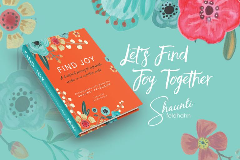 Shaunti's latest devotional - Find Joy - cover art