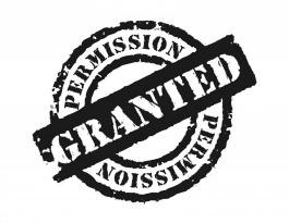 F Permission Granted Logo