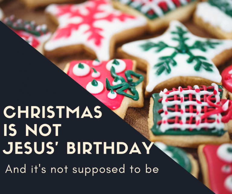 Christmas Birthday Image.Christmas Is Not Jesus Birthday Billy Kangas