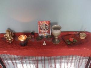 Hindu altar