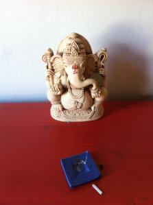 My son's Ganesh murti.