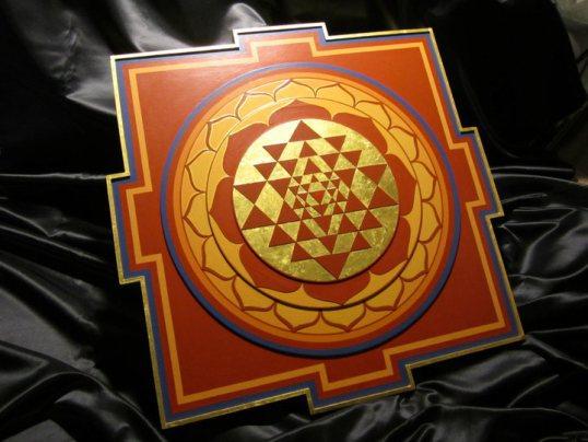 Sri yantra from Ekabhumi