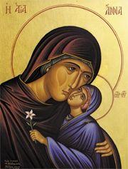 Icon of St. Anna