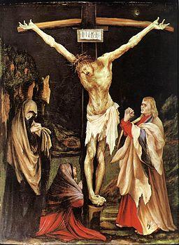 Matthias Grünewald's The Crucifixion of Christ, 1502