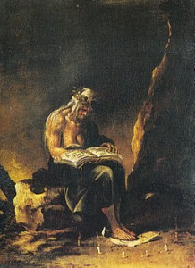 My kind of book! Salvator Rosa, The Witch