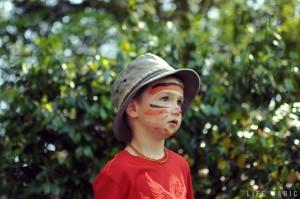 My tiger son, age 4.
