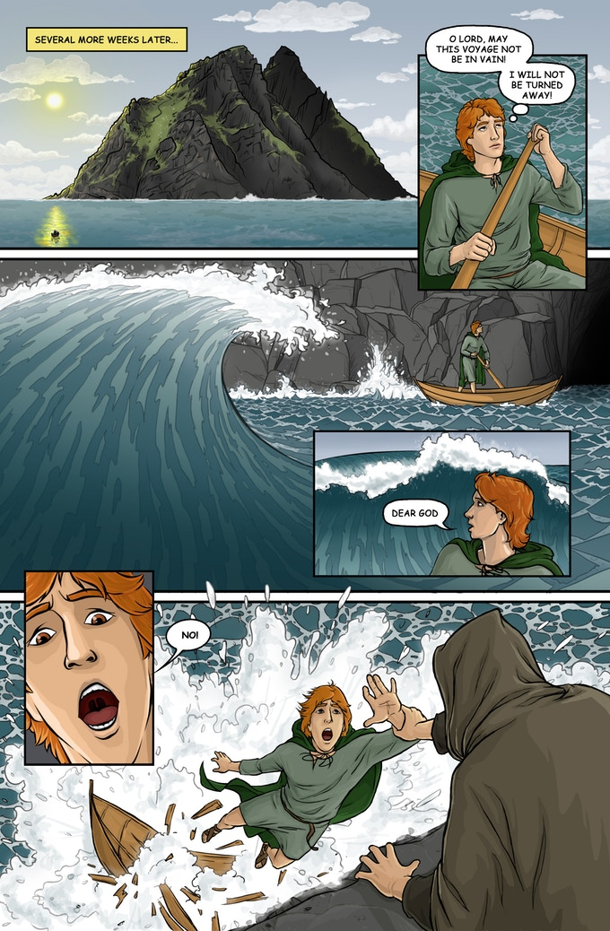 Skellig Michael comic