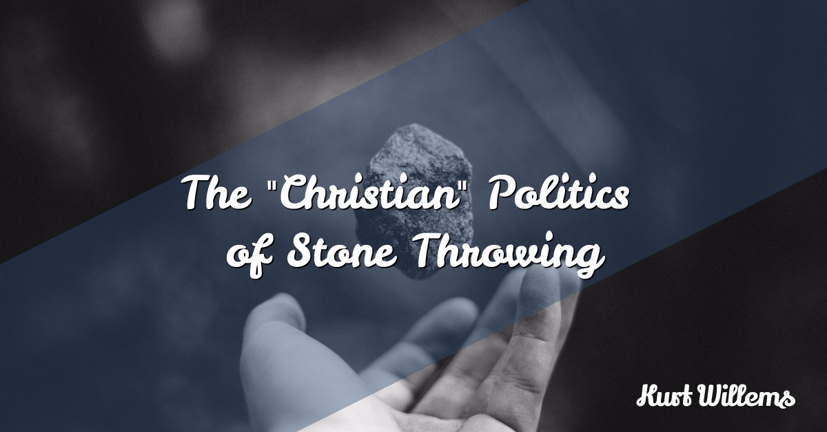 stone throwing, patheos