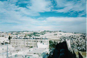 Toward the Mount of Olives ds