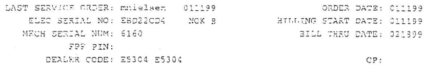 Nokia serial number 6160, ta da