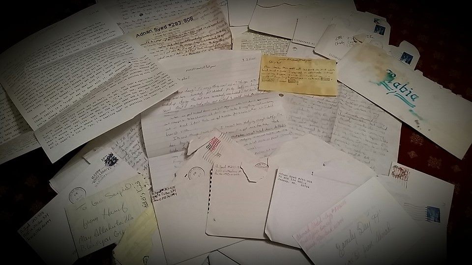 A fraction of what 15 years of correspondence looks like