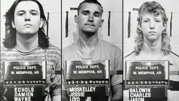"The ""West Memphis Three"". I once tweeted at Damien hoping to get his interest in Adnan's case. He never responded. Sniff."