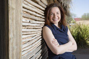 Photo of Katharine Hayhoe by AshleyRodgers at Texas Tech University
