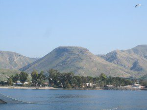 "Another ""mountain"" on the N.E. of Galilee. (My pic)"