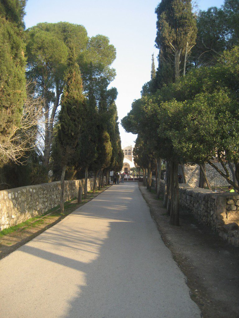 Road to Church of Transfiguration