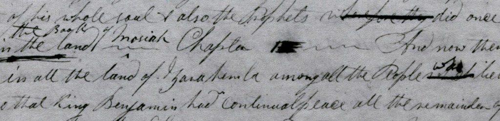 Printer's Manuscript