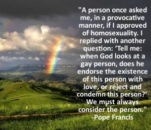 rainbow francis quote