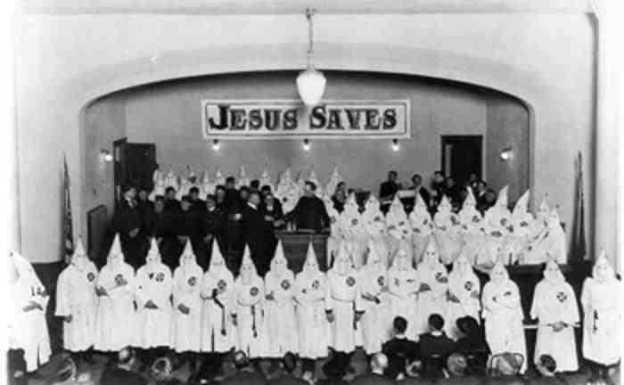 "The KKK - a ""Christian organization"""