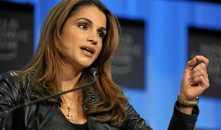 Queen Rania Al Abdullah of Jordan
