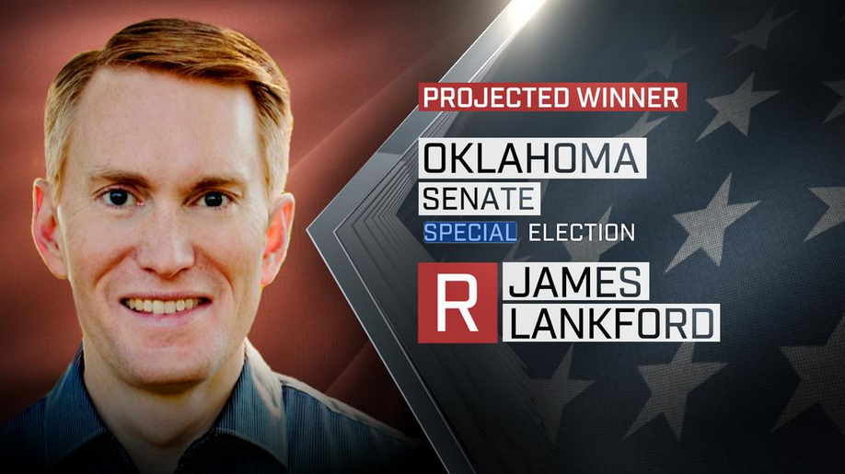 Oklahoma Senator-elect James Lankford