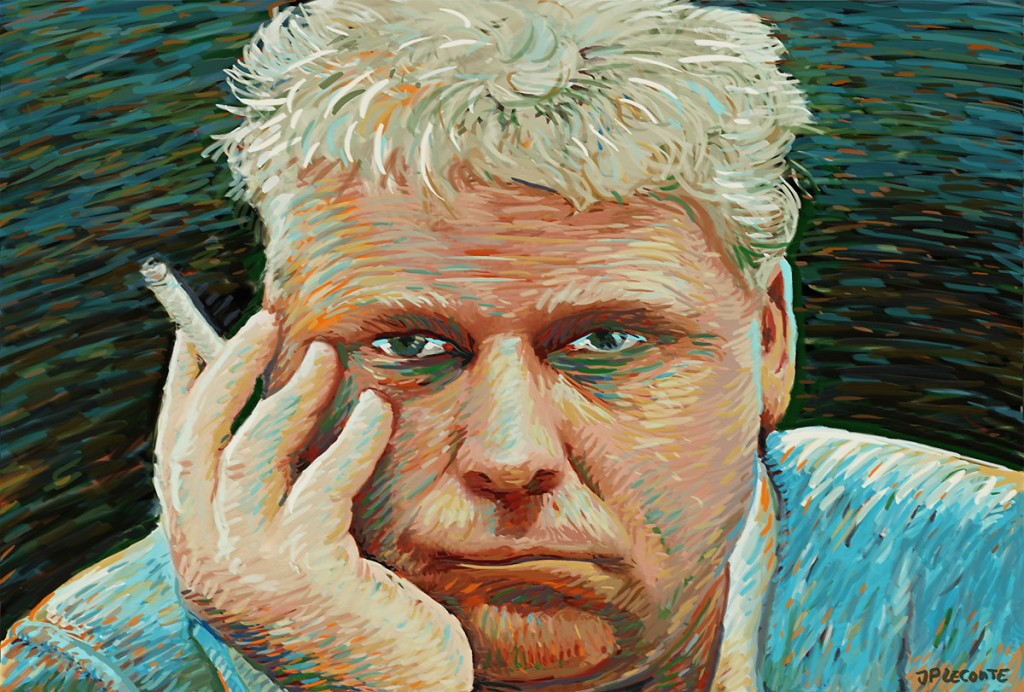 Theo van Gogh portret by Leconte