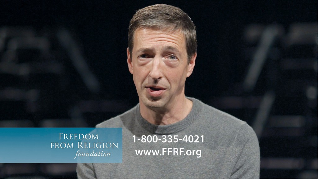 Ron Reagan for Freedom From Religion Foundation